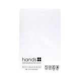 hands+ ボックスシーツ セミダブル ホワイト