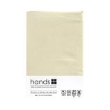 <東急ハンズ> hands+ ボックスシーツ セミダブル ダークベージュ画像