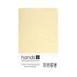 hands+ ボックスシーツ ダブル ライトベージュ