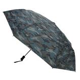 hands+ 耐風折りたたみ傘 55cm カモフラブラック