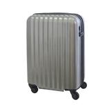 【お買い得】東急ハンズ オリジナルスーツケース ジップエクスパンダブルタイプ 36L ヘアラインシルバー【メーカー直送品】お届けまで約1週間~10日間