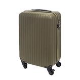 【お買い得】東急ハンズ オリジナルスーツケース ジップタイプ 36L カーキ【メーカー直送品】お届けまで約1週間~10日間