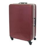 【お買い得】東急ハンズ オリジナルスーツケース フレームタイプ 91L ベニアカ【メーカー直送品】お届けまで約1週間~10日間
