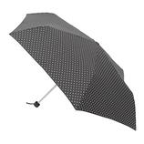 【お買い得】東急ハンズオリジナル 簡単折傘53cm ブラックドット