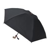 hands+ 1級遮光 新簡単開閉折りたたみ傘 タッセル 50cm ブラック