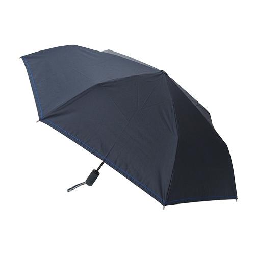 hands+ 1級遮光 自動開閉 折りたたみ傘 55cm ネイビー