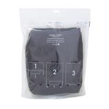 hands+ ライトシリーズ ジップスーツケース用カバー Mサイズ(60L対応タイプ) ネイビー