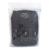 hands+ ライトシリーズ ジップスーツケース用カバー Lサイズ(90L対応タイプ) ネイビー