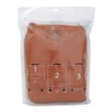 hands+ ライトシリーズ ジップスーツケース用カバー Lサイズ(90L対応タイプ) オレンジ