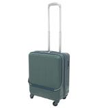 hands+ ライトスーツケース フロントオープンタイプ 38L グリーン【メーカー直送品】お届けまで約1週間~10日間