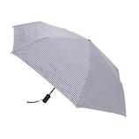 hands+ 自動開閉 超撥水折りたたみ傘 55cm ネイビーチェック
