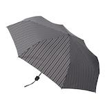 hands+ 風に強い簡単開閉 折りたたみ傘 55cm ストライプ│hands+ウェザー hands+ 折り畳み傘