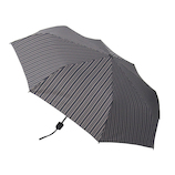 hands+ 風に強い簡単開閉 折りたたみ傘 55cm ストライプ