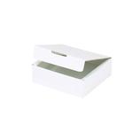 東急ハンズオリジナル フラットボックス1 ホワイト 内寸80×75×H23mm│ラッピング用品 ギフトボックス(組み立て)