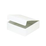 東急ハンズオリジナル フラットボックス3 ホワイト 内寸120×110×H38mm