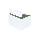 東急ハンズオリジナル ロングスクエアボックス ホワイト 内寸95×120×H85mm│ラッピング用品 ギフトボックス(組み立て)