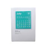 <東急ハンズ>【2018年7月始まり】 hands+ダイアリー B6 マンスリー カレンダー ホワイト 月曜始まり画像