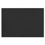 カンキ化工材 塩ビ ツヤ消し板 275×400×0.3 クロ│樹脂・プラスチック 塩ビ板