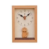 キコリ 仔猫の時計 K156