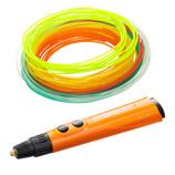 XYZプリンティング ダヴィンチ 3Dペン フィラメントセット 6色×12m