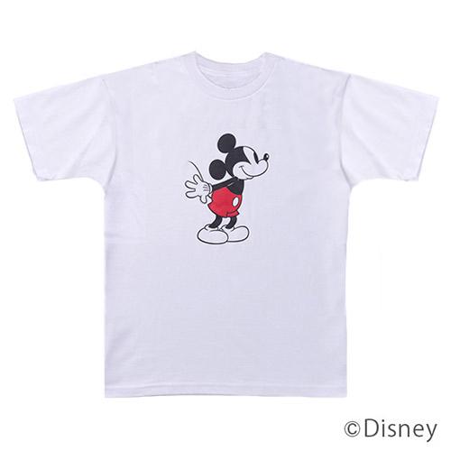 東急ハンズ限定 ディズニー メンズTシャツ ミッキーマウス フリーサイズ