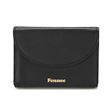 Fennec ハーフムーン ミニウォレット FHMW001 ブラック