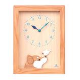 キコリ(KICORI) 柴犬と白文鳥の時計 K480