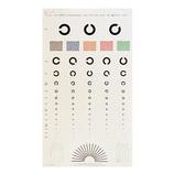 視力検査表 ランドル式 3メートル用│実験用品 その他 実験用品