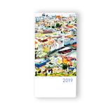 【2019年1月始まり】 坂本真綾×ほぼ日手帳2019 weeks ウォレットサイズ 月曜始まり