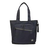 吉田カバン ポーター フロント トートバッグ(L) 687−17025 ネイビー│トートバッグ