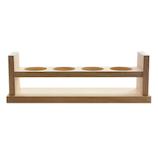 セキヤ 木製試験管立て 42-197-080│実験用品 ビーカー・フラスコ