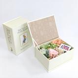 ピーターラビット プリザーブドフラワー絵本ボックス 【店頭のみ商品】