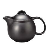 カネカ北川製茶 常滑焼 ティーポット 370mL 黒│茶器・コーヒー用品 ティーポット