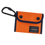 吉田カバン ポーター コンパ—ト ウォレット 538−16171 オレンジ│財布・名刺入れ 二つ折り財布