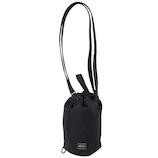 吉田カバン ポーター デニム ドローストリングバッグ(L) 892−15102 ブラック│ショルダーバッグ