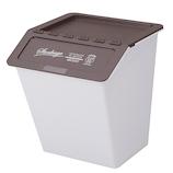 【お買い得】【通販限定】 シービージャパン スタックバケット 2個セット ブラウン+ブラウン│ゴミ箱 キッチン用ゴミ箱
