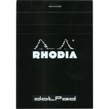 RHODIA No.12 ドット ブラック cf12559