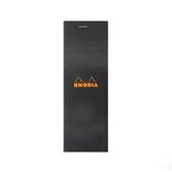 RHODIA No.8 ブロック ブラック cf82009