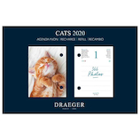 【2020年版・日めくり】ドレジャー 日めくりレフィル 猫