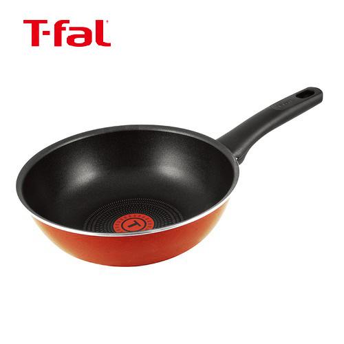 ティファール(T−fal) フェアリーローズ ウォックパン C50075 22cm