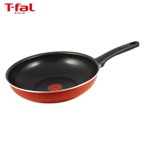 ティファール(T−fal) フェアリーローズ ウォックパン C50019 28cm