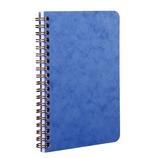 クレールフォンテーヌ AGEBAG 3ポケット付きノート 11×17cm 786164 ブルー