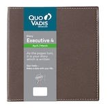 【2019年4月始まり】 Quo Vadis(クオバディス) エグゼクティブ4 クラブ A5変形 ウイークリー qv66202mr マロングラッセ 月曜始まり