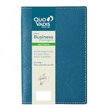 【2019年4月始まり】 Quo Vadis(クオバディス) ビジネスプレステージ4 クラブ A6 ウィークリー qv60102bp ブループラッセ 月曜始まり