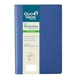 【2019年4月始まり】 Quo Vadis(クオバディス) ビジネスプレステージ4 アンパラ A6 ウィークリー qv60101bl ブルー 月曜始まり