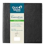 【2019年4月始まり】 Quo Vadis(クオバディス) エグゼクティブノート4 マドラス A5変形 ウィークリー qv60208bk ブラック 月曜始まり