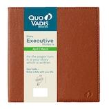 【2019年4月始まり】 Quo Vadis(クオバディス) エグゼクティブノート4 マドラス A5変形 ウィークリー qv60208br ブラウン 月曜始まり