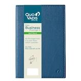 【2019年4月始まり】 Quo Vadis(クオバディス) ビジネスプレステージ4 マドラス A6 ウィークリー qv60108bl ブルー 月曜始まり