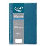 【2019年12月始まり】 クオバディス ビジネス/クラブ 10×15 A6 ウィークリー qv00402bp ブループラッセ 月曜始まり