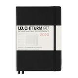 【2020年1月始まり】 ロイヒトトゥルム1917 ミディアム A5 ウィークリープランナー 359878 ブラック 月曜始まり